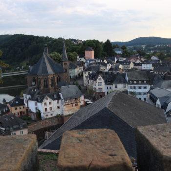 Blick auf die Saarburger Altstadt