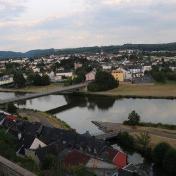 Blick zum Stadtteil Beurig